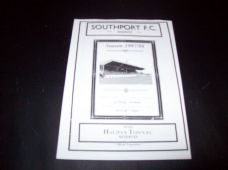 Southport Reserves v Halifax Town Reserves, 1997/98